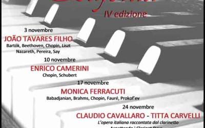 Rassegna Pianistica Eufonia – IV Edizione