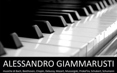 """Concerto di Alessandro Giammarusti a favore di """"Domani – Zavtra"""""""