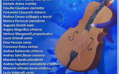 4/10/15 – Concerto Inaugurale degli Insegnanti – VI Edizione