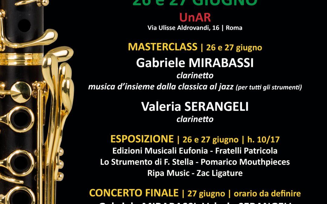 CLARINITALY 2021 – 26 e 27 giugno – Esposizione, masterclass e concerto finale